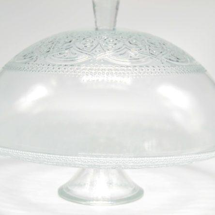 Kuchenglocke auf Fuss H: 22cm D: 33cm