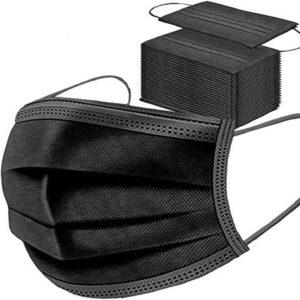 3 Lagig Masken Schwarz